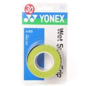 ヨネックス YONEX グリップテープ ウエットスーパーグリップ(3本入) AC102 0 (シトラスグリーン)