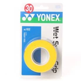 ヨネックス YONEX グリップテープ ウエットスーパーグリップ(3本入) AC102 0 (イエロー)