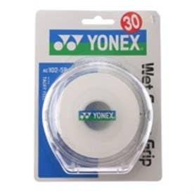 ヨネックス YONEX グリップテープ ウエットスーパーグリップ5本パック(5本入) AC102-5P 0 (ホワイト)