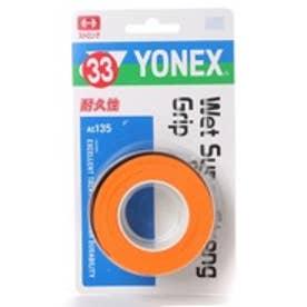 ヨネックス YONEX グリップテープ ウェットスーパーストロンググリップ(3本入) AC135 0 (ブライトオレンジ)