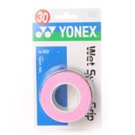 ヨネックス YONEX グリップテープ ウエットスーパーグリップ(3本入) AC102 0 (フレンチピンク)