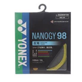 ヨネックス YONEX バドミントンストリング ナノジー98 NBG98