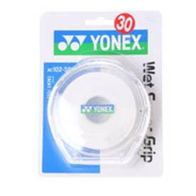 ヨネックス YONEX グリップテープ ウエットスーパーグリップ5本パック(5本入) AC102-5P (ホワイト)