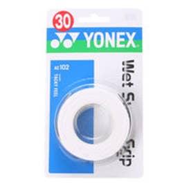 ヨネックス YONEX グリップテープ ウエットスーパーグリップ(3本入) AC102 (ホワイト)