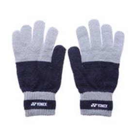 ヨネックス YONEX ユニセックス テニス 手袋 ヒートカプセルグローブ 46013 (ネイビーブルー)