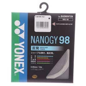 ヨネックス YONEX バドミントン ストリング ナノジー98 NBG98 NBG98