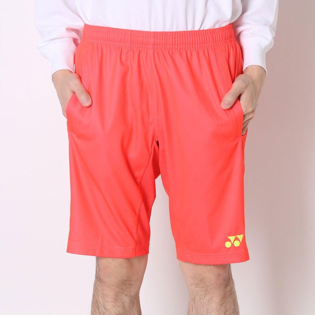 628e8c96fa10df ヨネックス YONEX テニスパンツ UNIハーフパンツ スリムフィットロング 15052 オレンジ (フラッシュオレンジ)  -レディースファッション通販 ロコンドガールズ ...