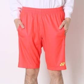 ヨネックス YONEX テニスパンツ UNIハーフパンツ スリムフィットロング 15052 オレンジ  (フラッシュオレンジ)