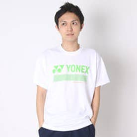 ヨネックス YONEX ユニセックスTシャツ ドライTシャツ 16253Y ホワイト  (ホワイト)