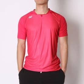 ヨネックス YONEX ユニセックスTシャツ シャツ(スタンダードサイズ) 12128 レッド  (クリスタルレッド)
