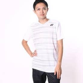 ヨネックス YONEX ユニセックスTシャツ シャツ(スリムタイプ) 12124 ホワイト  (ホワイト)