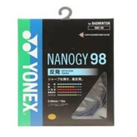 ヨネックス Yonex バドミントンストリング NANOGY98 NBG98