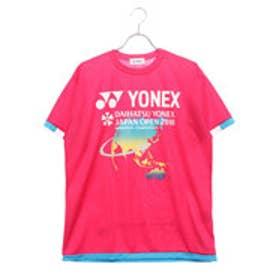 ヨネックス YONEX バドミントン 半袖Tシャツ ユニプラクティスTシャツ YOB18330