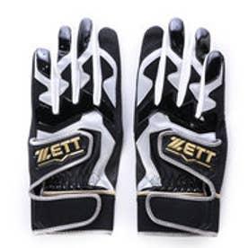 ゼット ZETT バッティンググローブ(両手) ネオステイタス 一般用 BG994 (ブラック×ブラック)