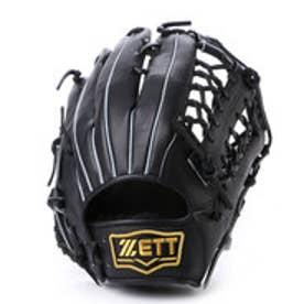 ゼット ZETT ソフトボールグローブ(右投げ) デュアルキャッチ BSGB53630 他 (ブラック)
