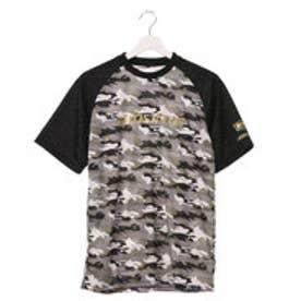 ゼット ZETT メンズ 野球 半袖Tシャツ ネオステイタス カモプリントTシャツ BOT1721C