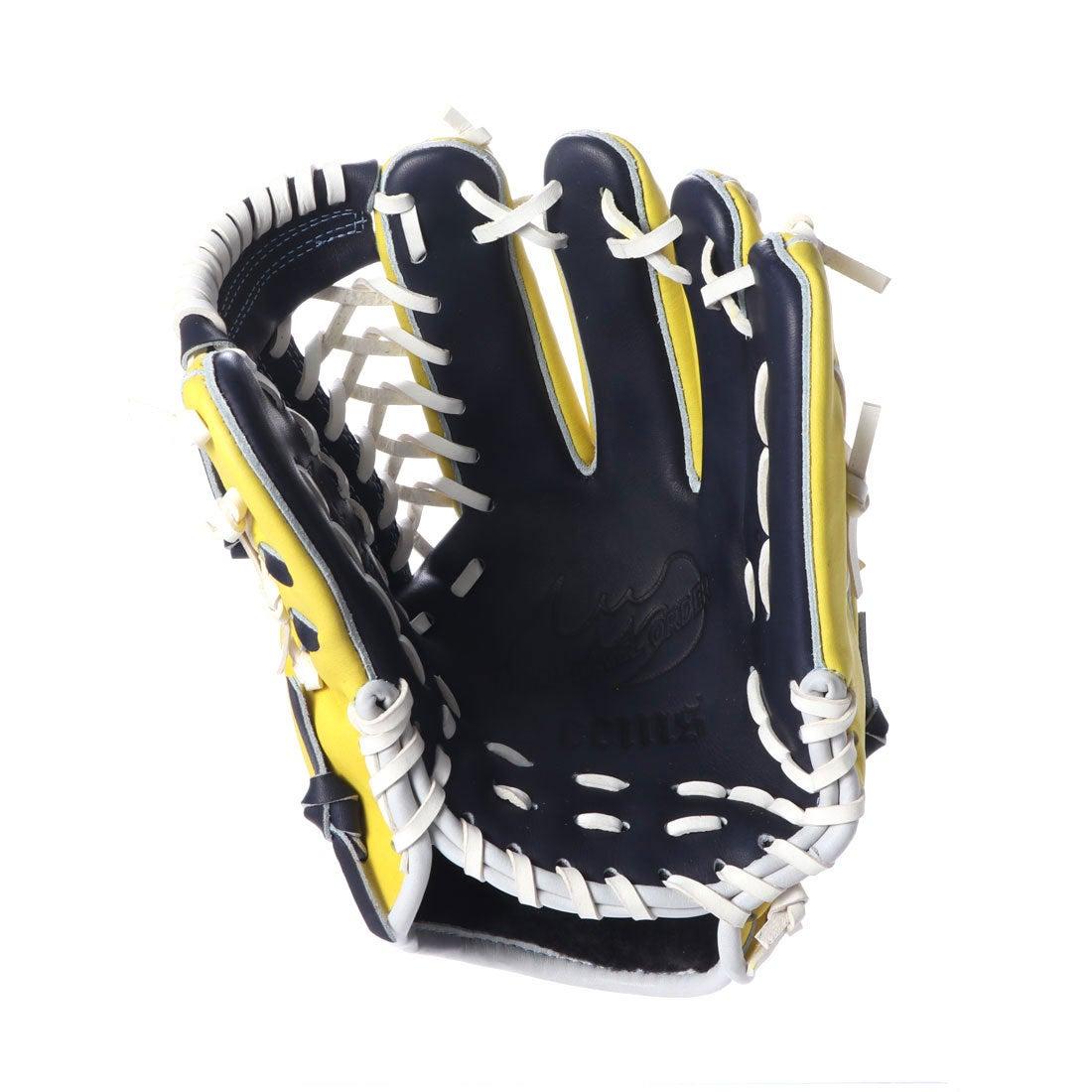 一般 野手用 グラブ 兼 ZEEMS 軟式 右投げ用 三方親 (AS-427DB) ジームス 軟式野球 内野手用 グローブ ソフト