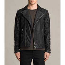 KUSHIRO LEATHER BIKER(Black)