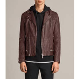 CONROY LEATHER BIKER(Oxblood)
