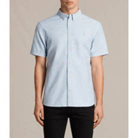 HUNGTINGDON SHORT SLEEVED SHIRT(Light Blue)