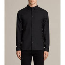 HUNGTINGDON LONG SLEEVED SHIRT(Black)
