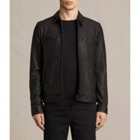 LARK LEATHER JACKET(Black)