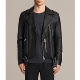 KAHAWA LEATHER BIKER(Jet Black)
