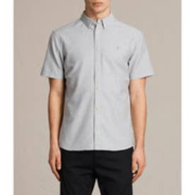 HUNGTINGDON SHORT SLEEVED SHIRT(DARK GULL GREY)