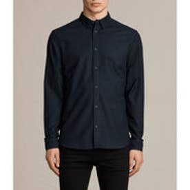 HUNGTINGDON LONG SLEEVED SHIRT(INK NAVY)