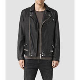 CLAY LEATHER BIKER(Black)