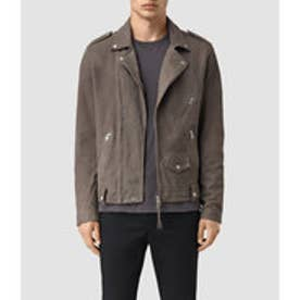 NIKO LEATHER BIKER(Steel Grey)