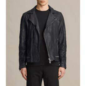 CONROY LEATHER BIKER(Ink Navy)