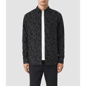 MONTAUD LONG SLEEVED SHIRT (Charcoal/Black)