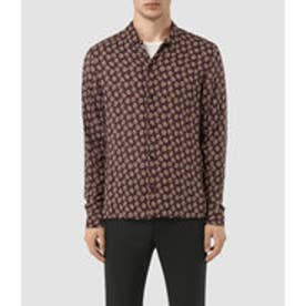 SERRATE LONG SLEEVE SHIRT (Oxblood)