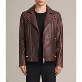 CONROY LEATHER BIKER (OXBLOOD RED)