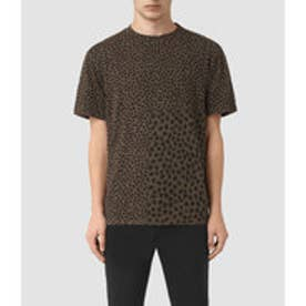 LEOPARD POLKA SS CRE (BATTLE BROWN)