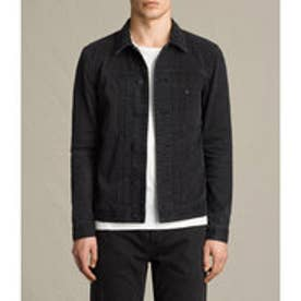 BARODA DENIM JACKET (Jet Black)