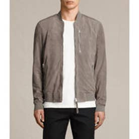 KEMBLE SUEDE BOMBER (Stone Grey)