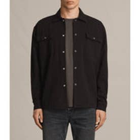 TWIST LS SHIRT (Washed Black)