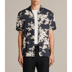 人気セール商品 HANAMI SS SHIRT (Washed Black)