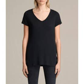 MALIN SILK TEE(Black)