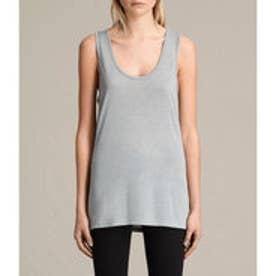 MALIN SILK VEST(Grey Marl)