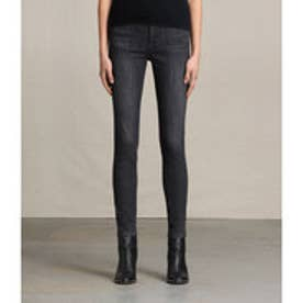 GRACE JEANS(Washed Black)