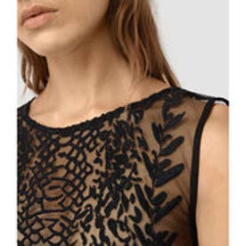 CARIAD EMBROIDERED TOP(Black)