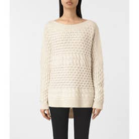 REED BOAT NECK JUMPER (White)