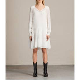 ABELIE DRESS (Chalk White)