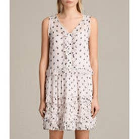 DEIRDRE RUFFLE DRESS (Vintage Pink)