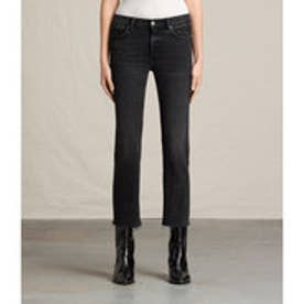 ZOE CROPPED BOOTCUT (Washed Black)