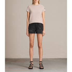SERENE DENIM SHORT (Washed Black)