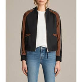 ATLEY BOMBER (BLACK/RUST RED)